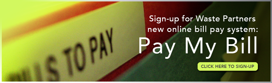 Sign up for Pay My Bill